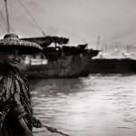 Burma | Angler im Regenmantel