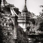 Burma | Mandalay goldenes Kloster