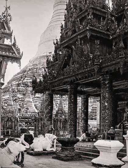 Burma | Rangoon Tempel Shwedagon