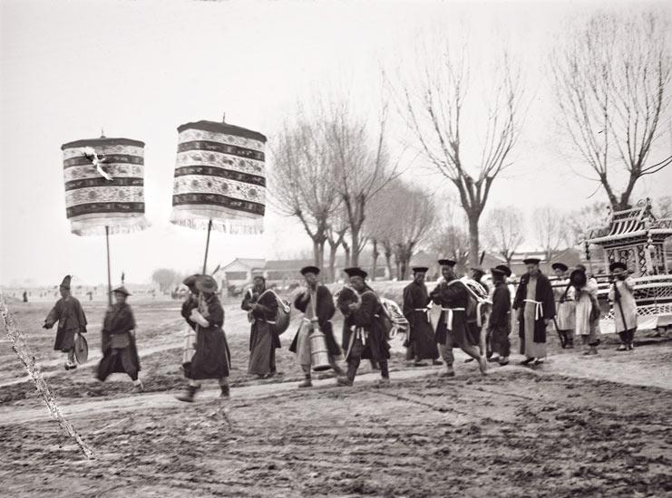 China | Peking Begräbnis der Kaiserin