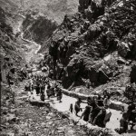 China | Taischan längste Treppe