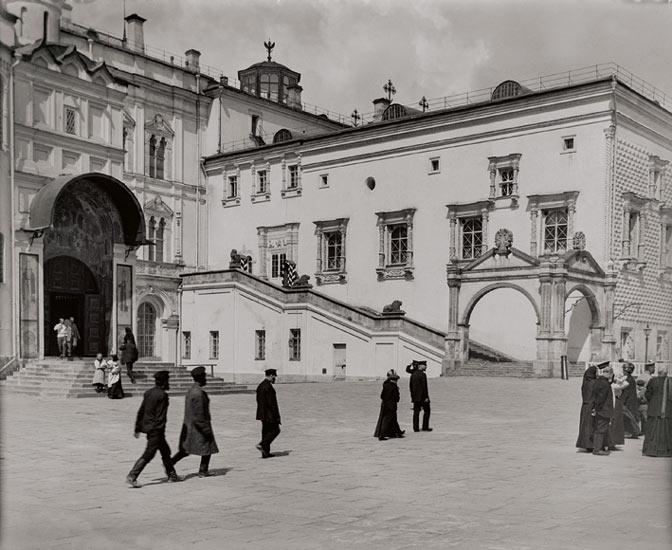 Russland | Moskau Synodalgebäude